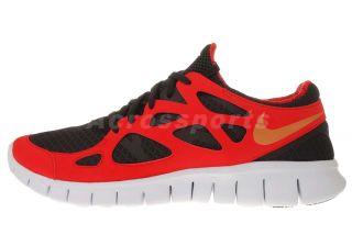 Nike Free Run 2 LX Liu Xiang Red Black Mens Running Shoes Limited QS