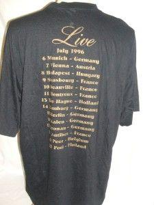 Little Richard 1996 Tour T Shirt Size XXL 124