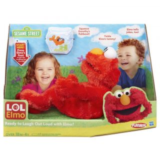 SESAME STREET LOL ELMO LAUGH OUT LOUD DOLL & DOROTHY BRAND NEW SEALED