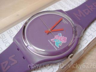 London 2012 Paralympic Games Maker Swatch Watch BNIB