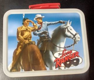 2001 Collectible Lone Ranger / Cheerios 60 th Anniversary Metal SNACK
