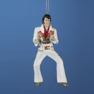 Kurt Adler Elvis Presley Eagle Jumpsuit Chrismas Orn