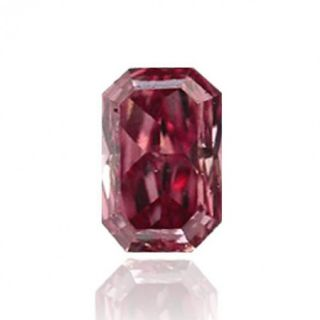 Carat Fancy Intense Pink Color Radiant Natural Loose Diamonds