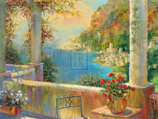 Michael Longo Sorrento Italy Mediterranean Balcony