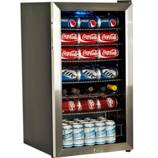 Countertop Locking Glass Door Beverage Refrigerator Display Cooler