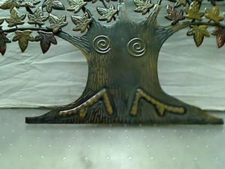 Lone Tree Metal Wall Art Decor Sculpture 24x48