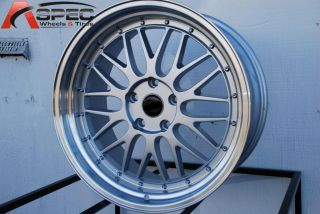 19 LM Silver Style Wheels Fit 5x112 Audi VW Mercedes