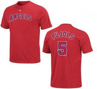 Los Angeles La Angels of Anaheim Albert Pujols Youth Jersey T Shirt in