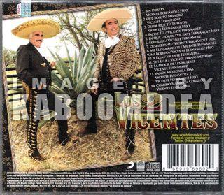 Los 2 Vicentes Vicente Fernandez E Hijo CD New Tema Telenovela Amor