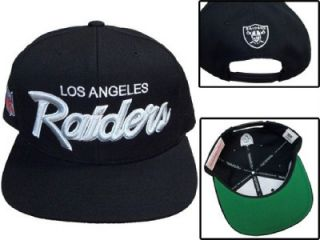 Los Angeles Raiders Snapback Hat Mitchell and Ness RARE