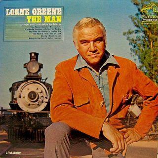 Lorne Greene The Man 1965 RCA LPM 3302 Mono LP