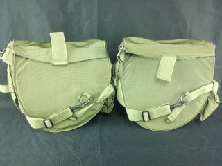 40 Gas Mask Carrier Pouch Lot of 2 NSN 4240 01 224 4196