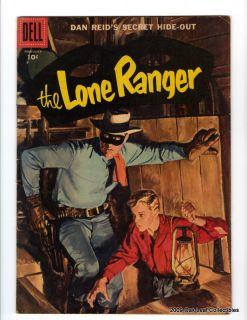 Dell Western Comic Lone Ranger 104 Fine