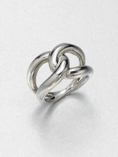 2013 Love Knot Design Michael Kors Silver Ring US Size 6 Freeshipping