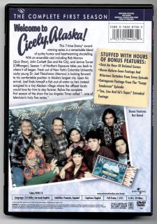 Northern Exposure The Complete First Season (DVD, 2 Disc Set) Hours