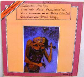 +ENRIQUE SANTOS+LEONARDO VELASQUEZ+LUIS SANDI MEXICAN LP AVANT GARDE