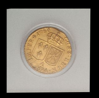 1786 A France Louis XVI Gold Louis DOr
