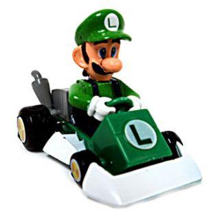 Mario Kart DS   Pull Back Racers   LUIGI (1.5 inch)   Super Mario Bros