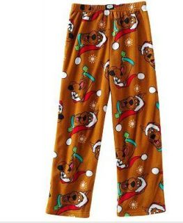 Scooby Doo Fleece Lounge Pants Pajamas 4 5 6 8 10 12