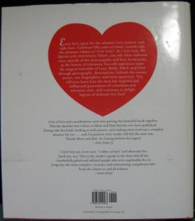 Love Lucy 50th Anniversary Tribute Book Elisabeth Edwards Coffee