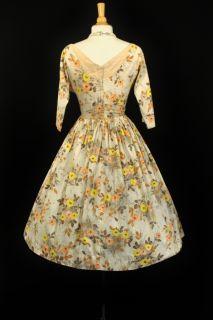 Garden Wedding Party Full Skirt Rockabilly Lucy Dress
