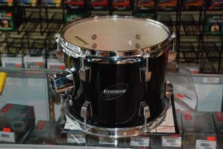 Ludwig Accent CS 10 black rack tom drum