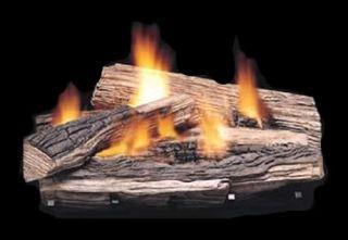 Vent Free Gas Logs Empire 30 Split Oak LP Gas