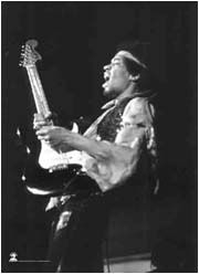 New Jimi Hendrix Cloth Poster Flag Guitar