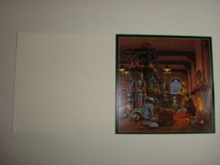 Lucasfilm Ralph McQuarrie Star Wars Unused Christmas Card Lucasfilm