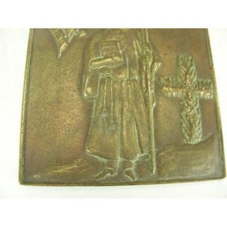 Vintage Salem Mass Witch Brass Belt Buckle Tiffany Co