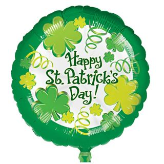 Luck O The Irish 18 Foil Balloon