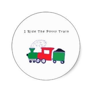 Potty Train Sticker