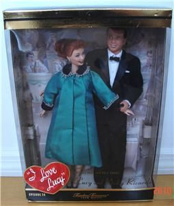 Love Lucy Barbie 50th Anniversary Ed Episode 50 NRFB