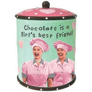 Love Lucy Chocolate Factory Cookie Jar New Store Stock 2012 Mint in
