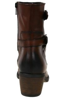 Clarks Womens Boots Lyme Regis Tan Ankle High 83291