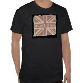 Vintage Union Jack Mens T Shirt