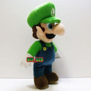 Plush 9 Stand Luigi E New Super Mario Brothers Plush Doll Figure