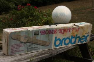 Brother KX 350 Home Knitting Machine Knitter Made in Japan