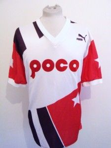 Puma Machts Mit Qualitat Vintage Retro Team Sports Football Jersey