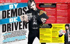 KERRANG 1451 Black Veil Brides My Chemical Romance Green Day Paramore