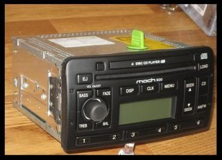 2003 2004 Ford Focus 6 Disc CD Changer Radio MACH 500/ 9006 Audiophile