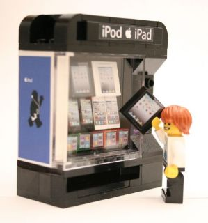 Lego Custom Vending Machine 10185 1018210218 10211 Apple Vend Modular