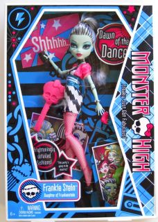 Monster High Frankie Stein Frankenstein Doll Dawn of The Dance Mattel