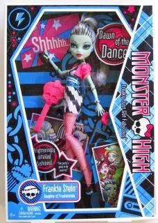 Monster High Frankie Stein Frankenstein Doll Dawn of The Dance Mattel