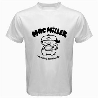 Mac Miller White Shirts, Incredibly Dope Knock Hip Hop Hoodie Rap T