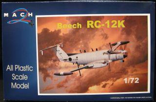 72 Mach 2 Beech RC 12K Huron U s Army