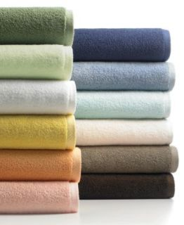 Martha Stewart Collection Low Twist Towels   Bath Towels   Bed