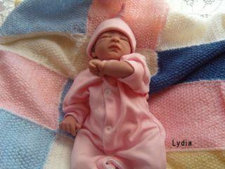 Lydia ♥ Reborn Baby Doll in Pink Prem Girl Xmas Birthday Young Ladys