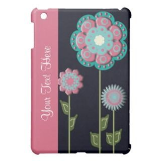 Pink and White Floral iPad Mini Case