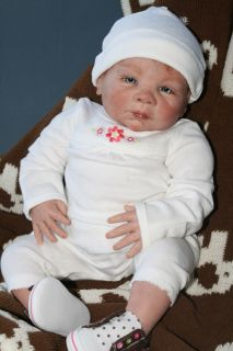 Reborn Baby Girl Doll Madeline Originally Paisley by Denise Pratt